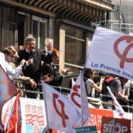 Mélenchon prend la lumière lors de la «fête à Macron».