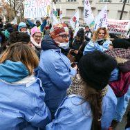 Les infirmiers en grève pour une meilleure reconnaissance.