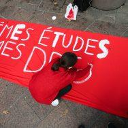 Blocage des lycées à Paris : un millier de manifestants dans la capitale.