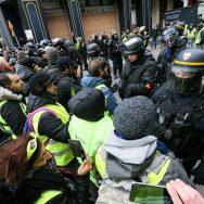 « Acte V » des « gilets jaunes » à Paris.