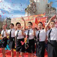 La communauté chinoise à Paris fête l'année du Porc.