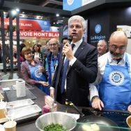 Salon de l'agriculture : Laurent Wauquiez dénonce la politique d'Emmanuel Macron à Bruxelles.