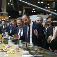 Edouard Philippe passe au Salon de l'Agriculture durant 3 jours.