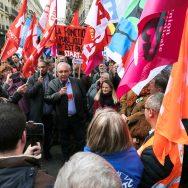 Les fonctionnaires vent debout contre la réforme de la fonction publique.