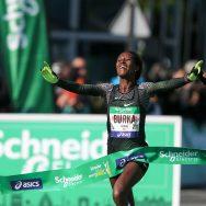 Marathon de Paris : victoire de l'Ethiopienne Gelete Burka.