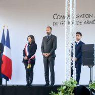 Edouard Philippe défend la commémoration du génocide arménien.