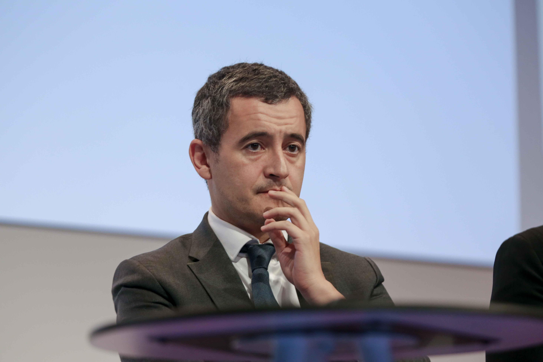 Gérald Darmanin, le ministre de l'Action et des Comptes publics au Congrès des buralistes. © Michel Stoupak. Jeu 10.10.2019, 13h06m13.