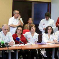 1 200 médecins prêts à démissionner de leurs fonctions administratives.