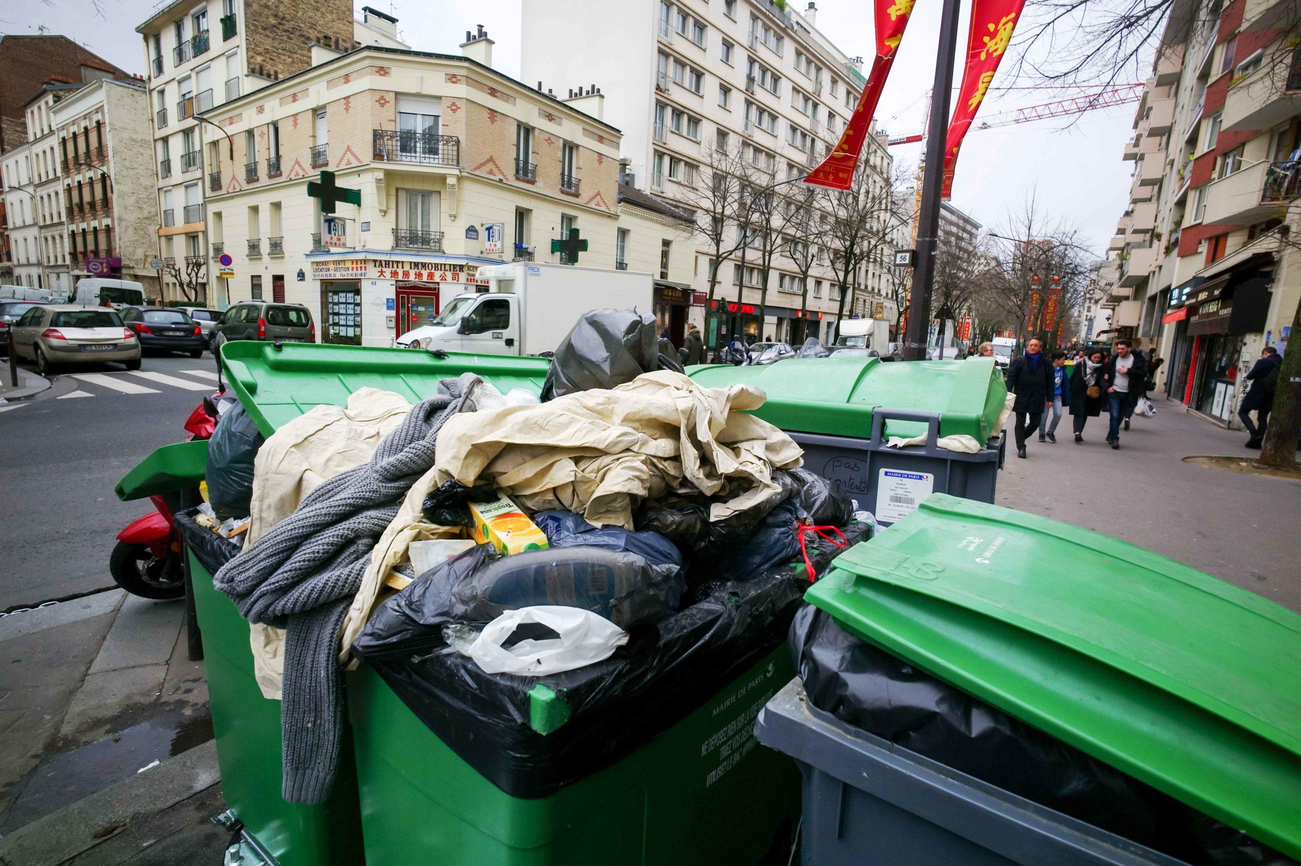 Les effets de la grève sont visibles dans les rues de Paris. © Michel Stoupak. Dim 02.02.2020, 14:34:46.