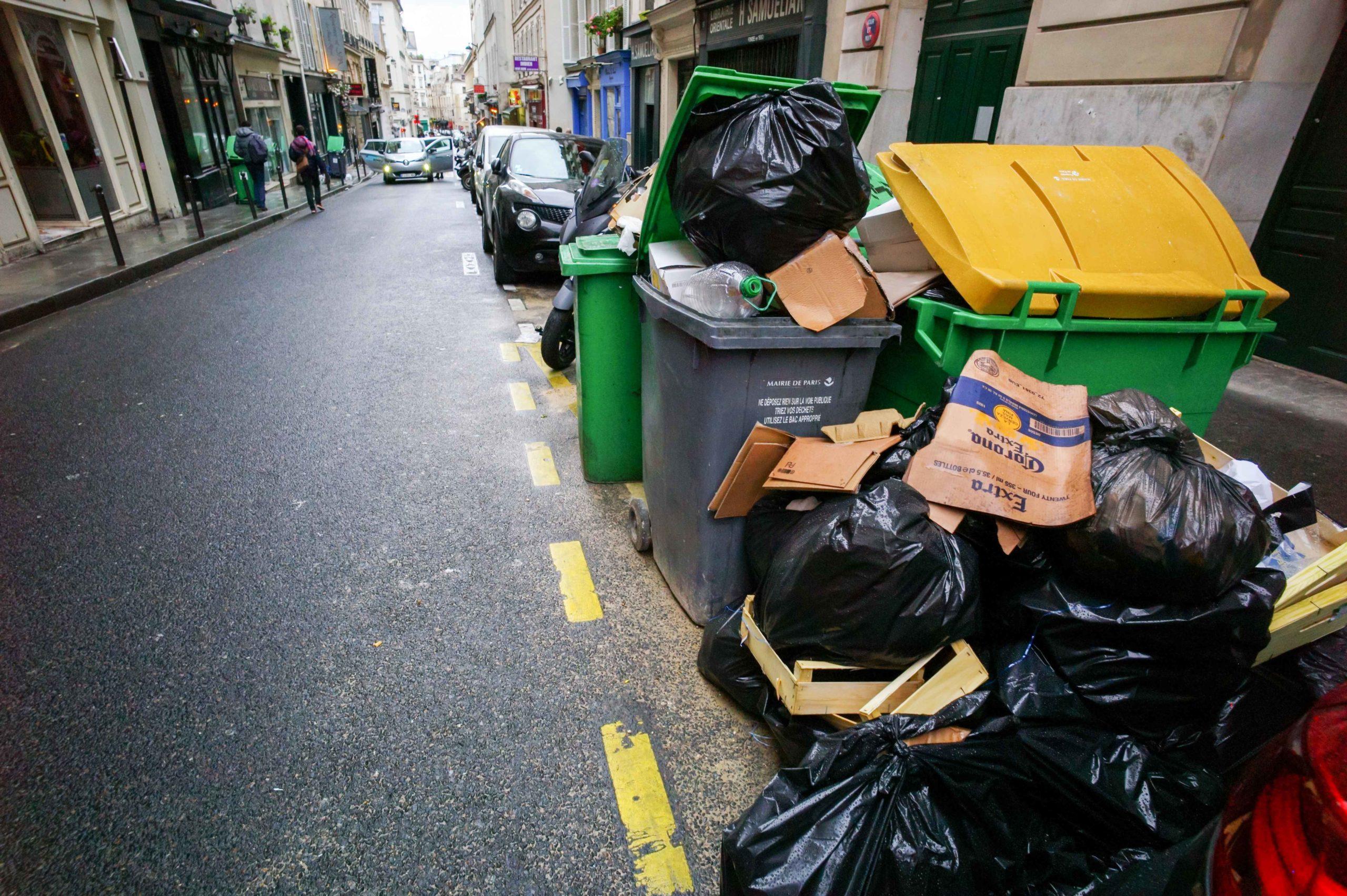 Les effets de la grève sont visibles dans les rues de Paris. © Michel Stoupak. Dim 02.02.2020, 15:38:53.