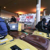Neuvième journée interprofessionnelle de manifestations contre la réforme des retraites.
