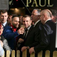 Salon de l'agriculture : à peine arrivé, Macron déjà interpellé.