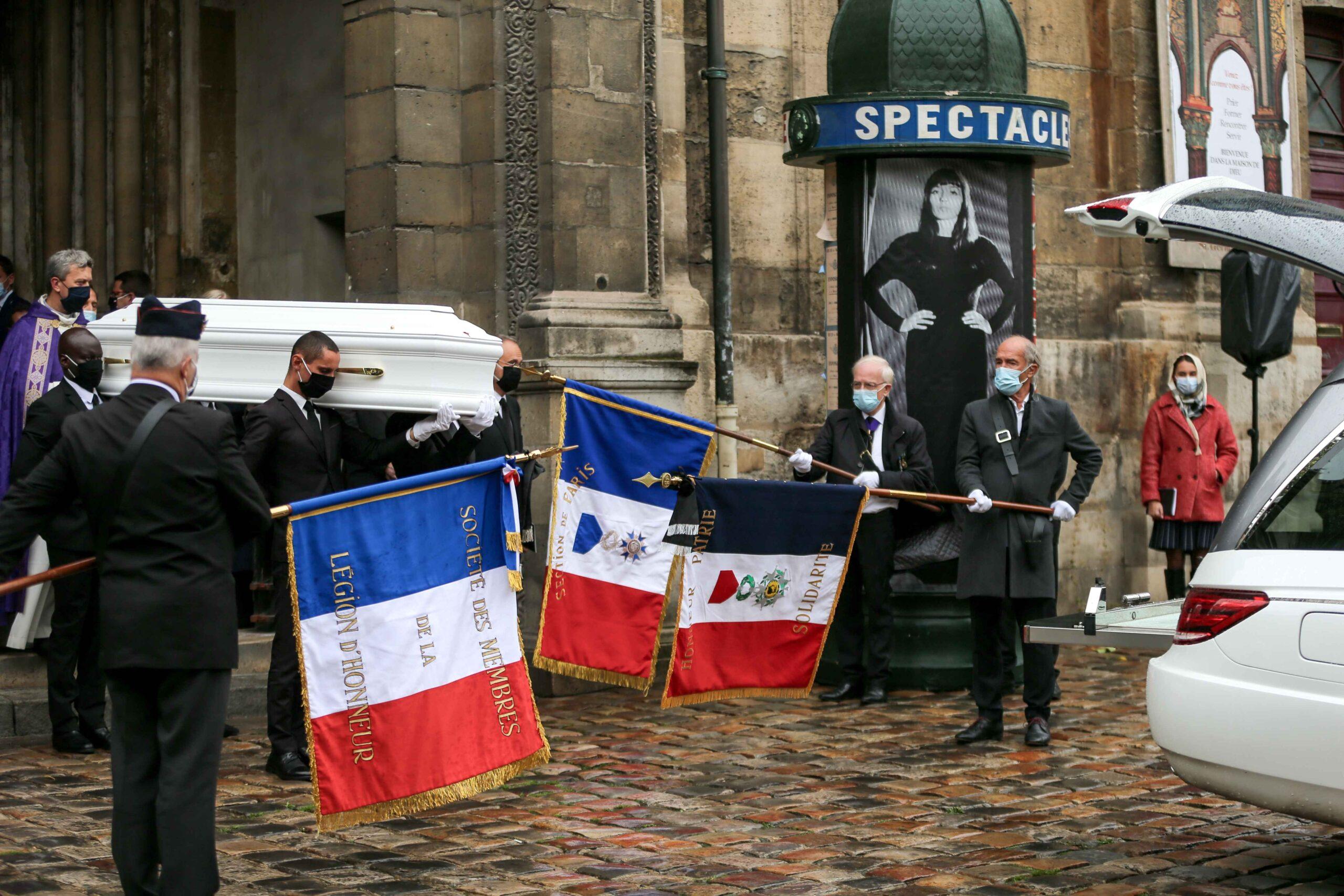 La cérémonie est terminée. © Michel Stoupak. Lun 05.10.2020, 14h58m27.